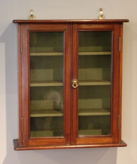 Antique Wall Cabinet circa 1900 - Small Antique Glazed Wall Cabinet Medicine Cabinets Cabinet