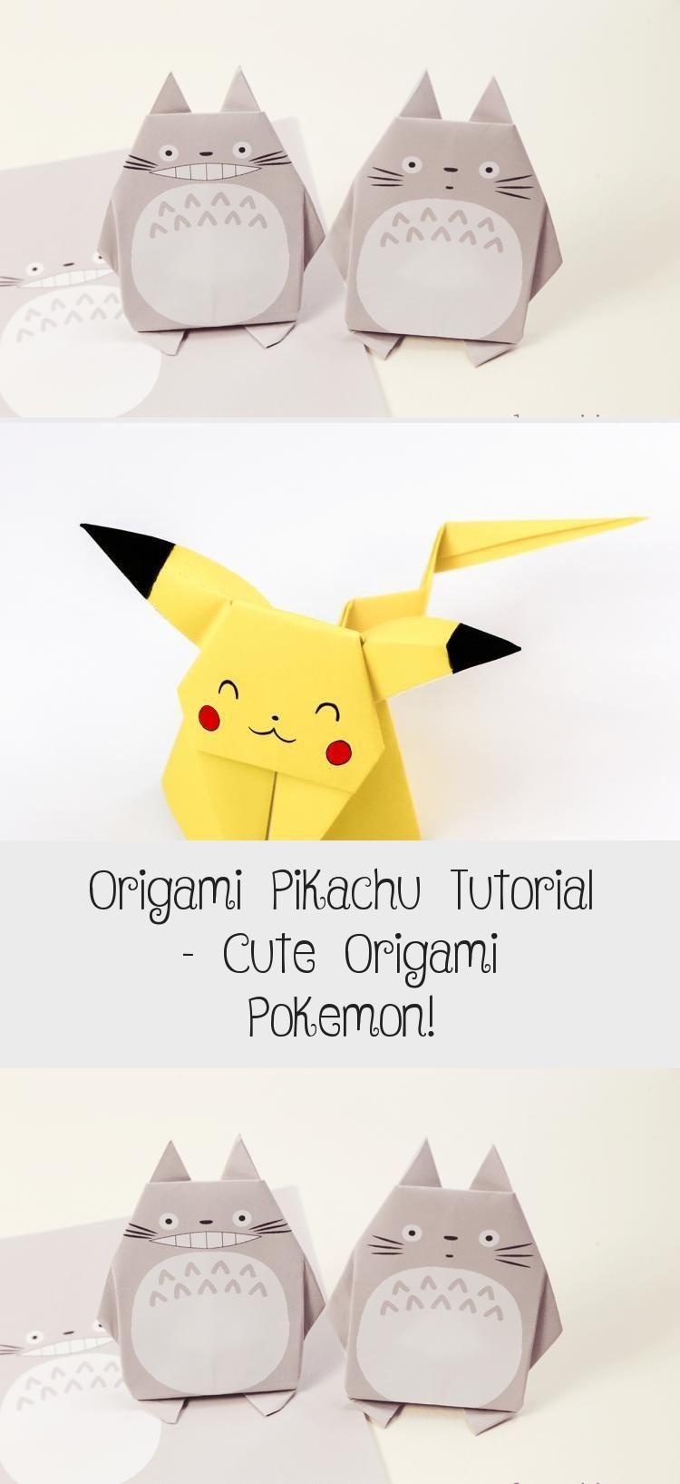 Photo of Origami Pikachu Tutorial – Süßes Origami Pokemon! – Papier Kawaii #origamiArt #ori …