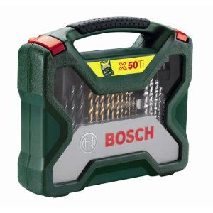 Bosch 50teiliges X-line Set Titanium