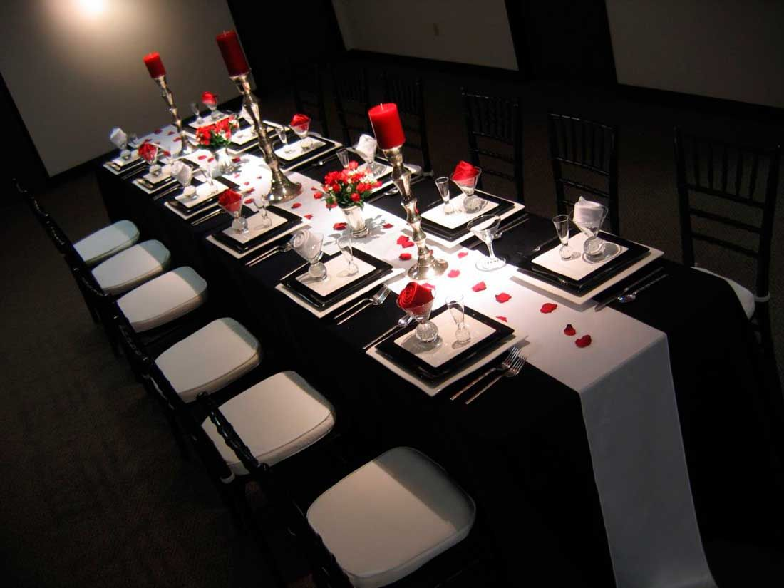 Black and White Wedding Decorations Ideas #wedding #decorations ...