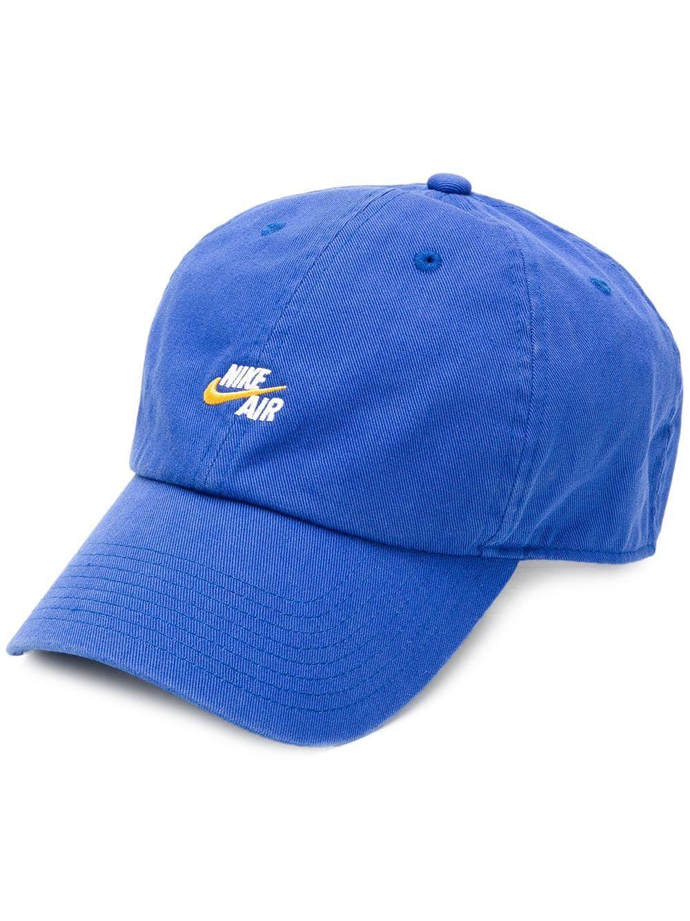 NIKE NIKE AIR HERITAGE 86 CAP - BLUE.  nike  fb00ed98110