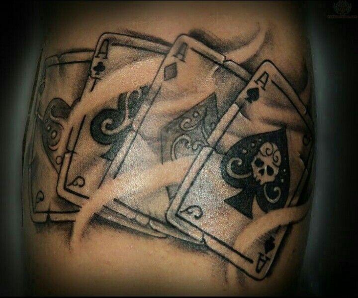 40+ Carte a jouer tatouage inspirations