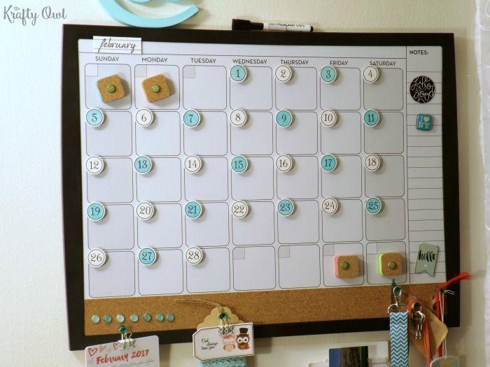 DIY Calendar Magnets  A Free Printable Free printable, Magnets