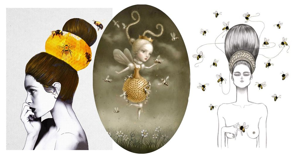 LEITMOTIV N° 10: The Beauty and the Bee Jenny Liz Rome, Nicoletta Ceccoli and Laura Laine