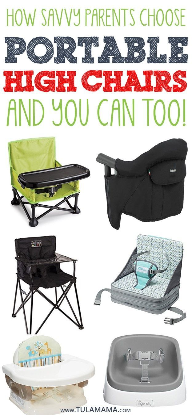 How To Choose The Best Portable High Chair | Portable high