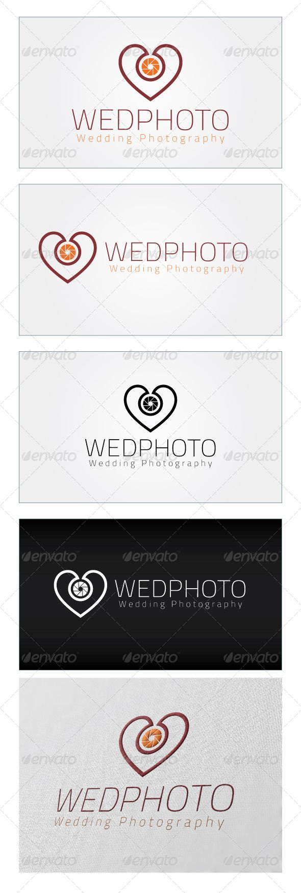 Wedphoto Logo Template GraphicRiver Re sizable Vector EPS