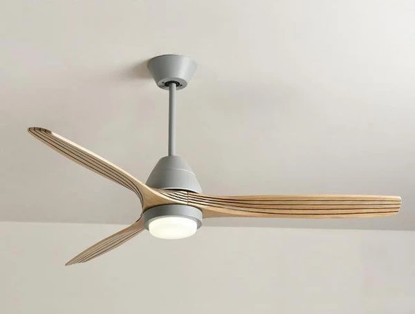 Modern Nordic Ceiling Fan With Led Light Warmly In 2020 Ceiling Fan Modern Ceiling Fan Scandinavian Ceiling Fans