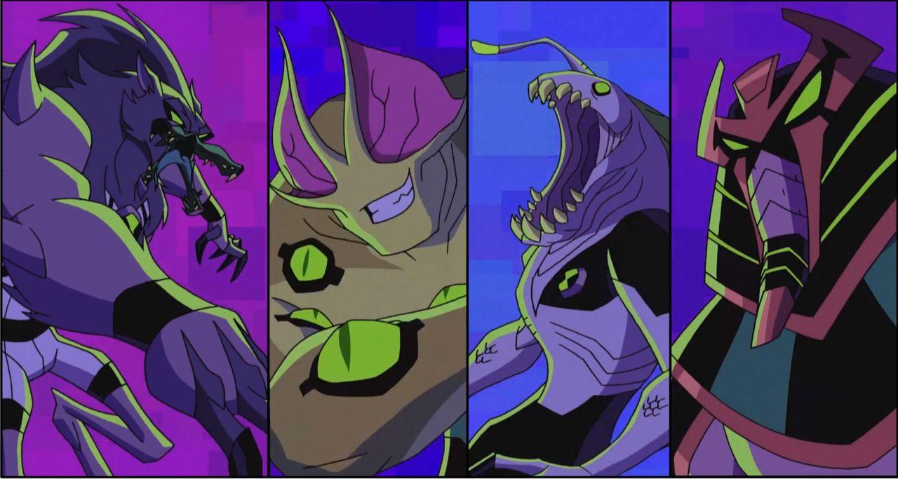 Galactic Monsters Arc Ben 10 Omniverse Serie Animada