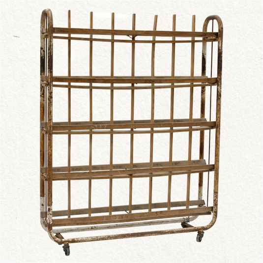 Vintage Bread Rack Once Used In A French Bakery As A Cooling Rack For Fresh Baked Breads From Terrain French Bakery Bread Baking Bakery