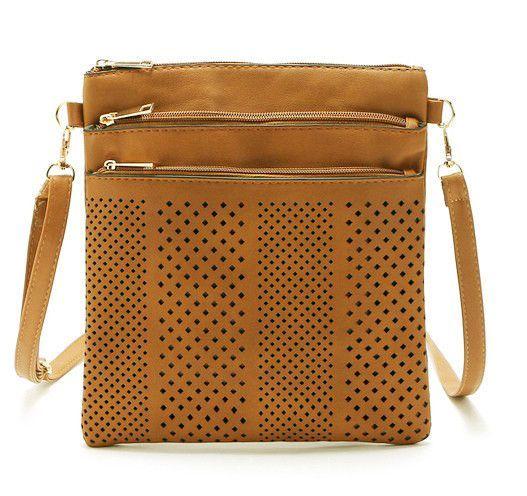 c93bb8c6264f 2017 Small Casual women messenger bags PU hollow out crossbody bags ladies  shoulder purse and handbags bolsas feminina