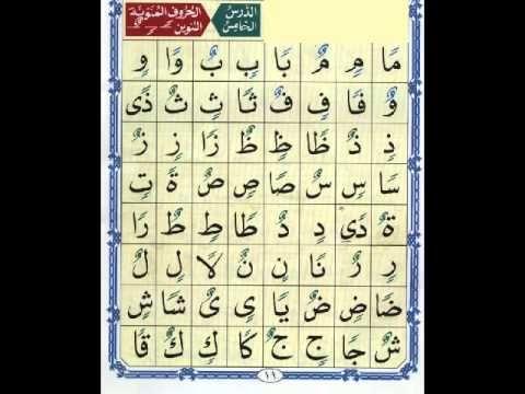 الدرس الخامس من القاعدة النورانية نور محمد حقانى Learn Quran Quran Arabic Learning