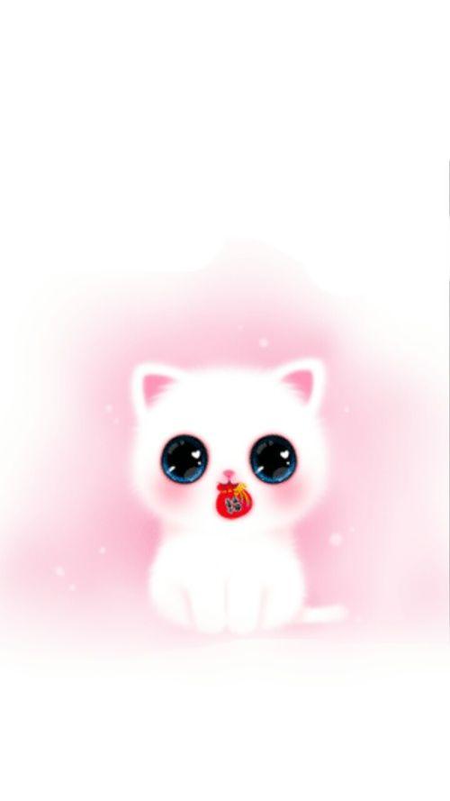 Computer Lock Screen Wallpapers Girls Wallpaper Iphone Girly Cute Pink Melody Cat Q版