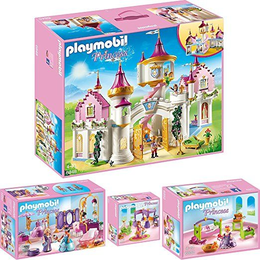 PLAYMOBIL® Princess 4er Set 6848 6850 6851 6852