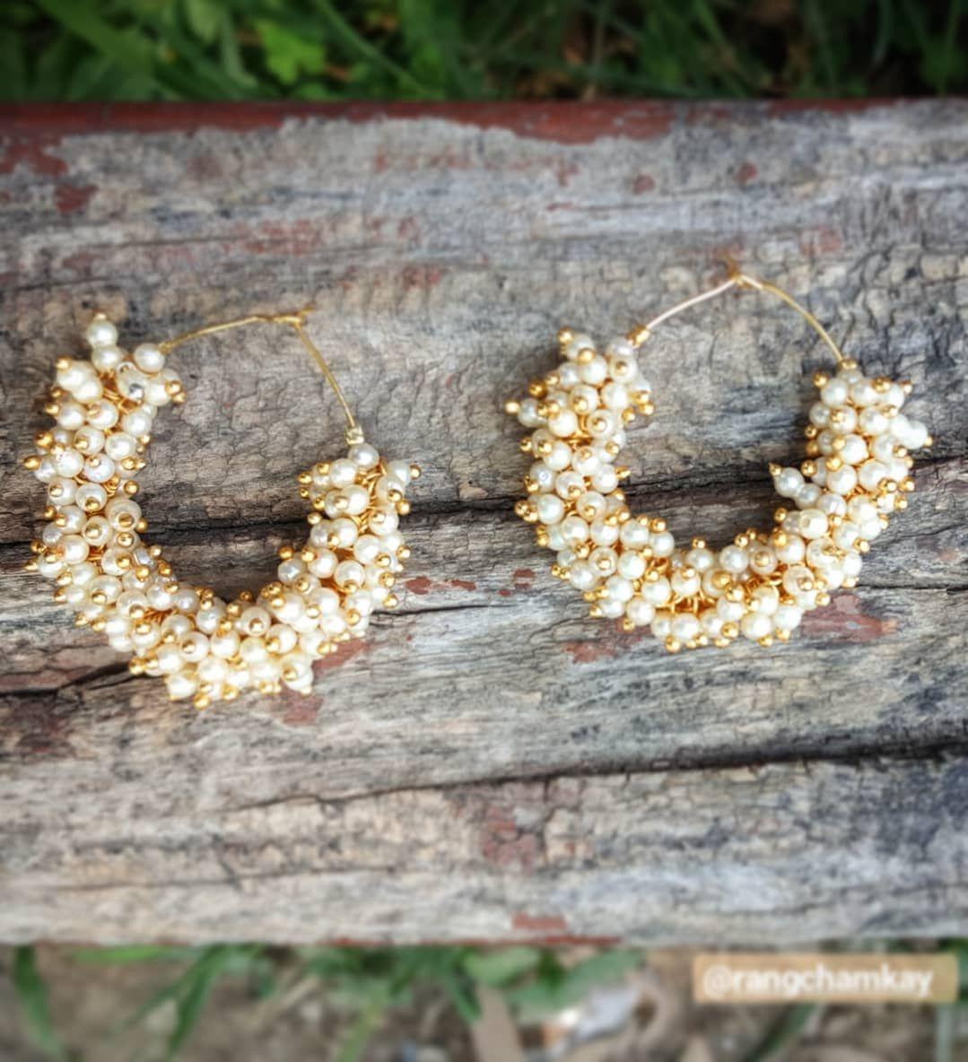 Pearl gajra bali is must have this season  Get yours now before in ends.  To order kindly dm  #pakistanstreetstyle #pakistani #pak #lahore #peshawar #quetta #boho #chic #perfectforthisseason #photography #photoshoot #nature #naturalphotography #instajewelry #instalove #tribaljewelry #ethnicjewelry #statementrangchamkay #Trendy #shaadi #weddingseason #summervibes  #karachites #casuallook        Trendy Trend Beauty Fashion