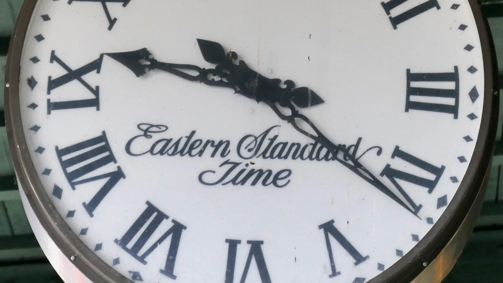 Est And Edt Are Different Time Zones Time Zones Zone Edt