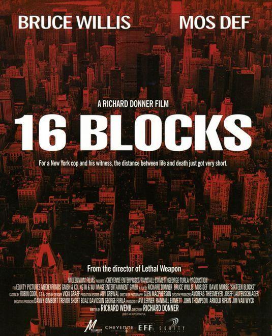 16 Calles 733173431 Large Jpg 535 660 Mos Def Carteles De Cine Bruce Willis