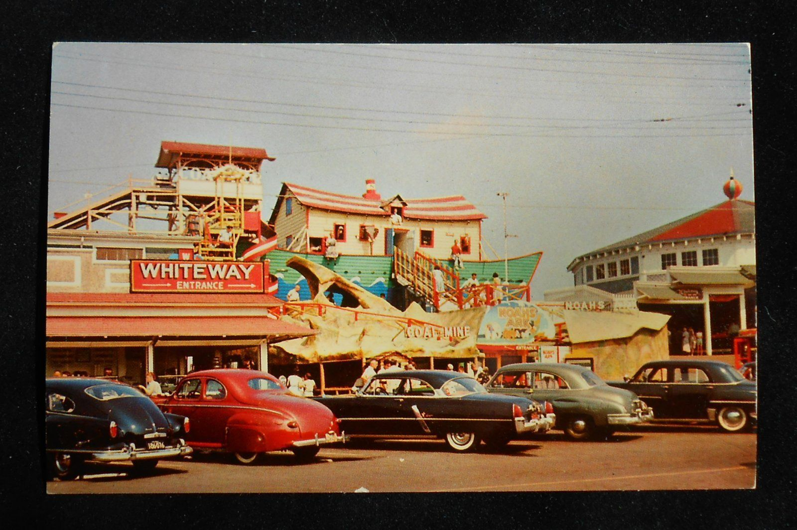 1950s Noah S Ark Coal Mine Amusement Park Rides Old Cars Old Orchard Beach Me Pc Ebay Old Orchard Beach Amusement Park Rides Old Orchard