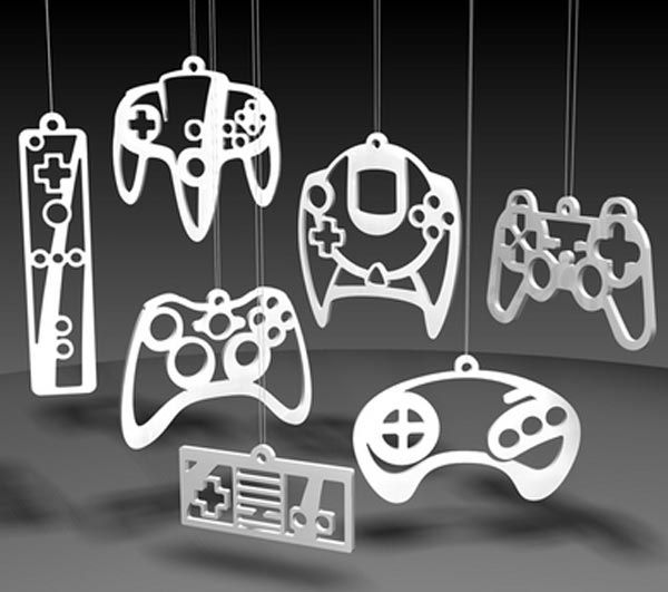 Geeky Gaming Controller Ornaments FTW! | Game controller, Ornament ...