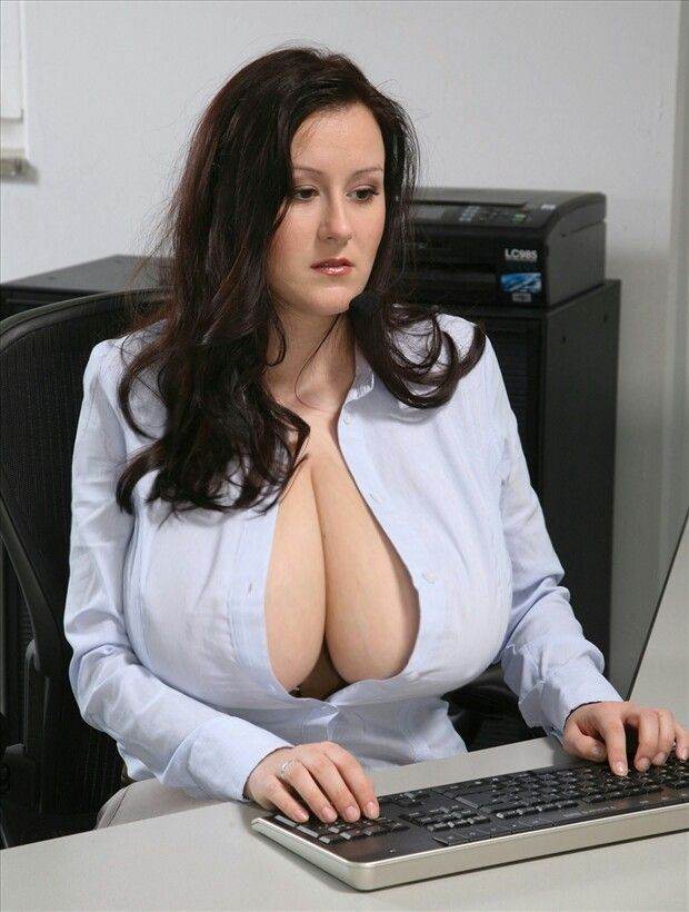 Fat office porn