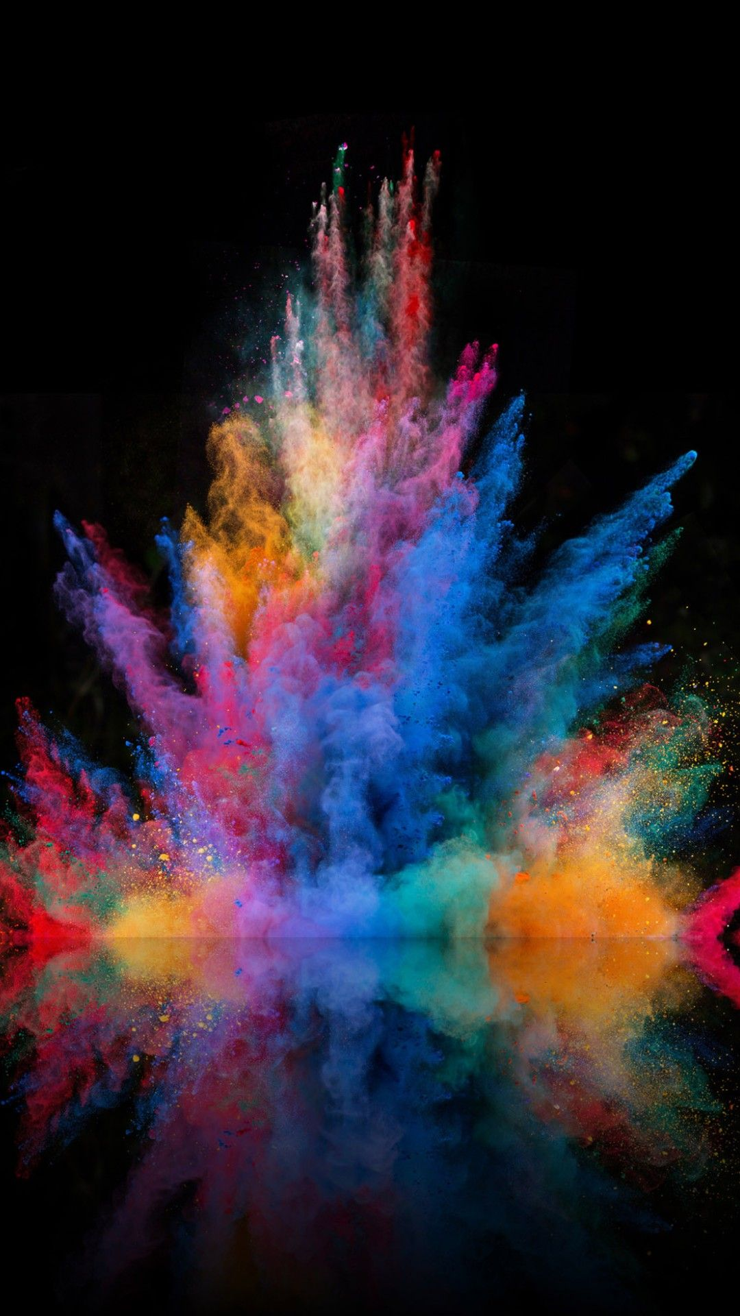 Colour explotion Abstract iphone wallpaper, Colorful
