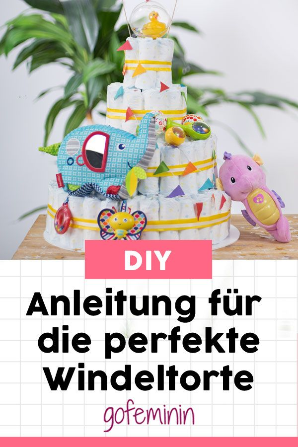 Photo of Tinker diaper cake: With this simple guide you can …