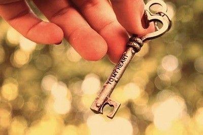 Key to my heart <3