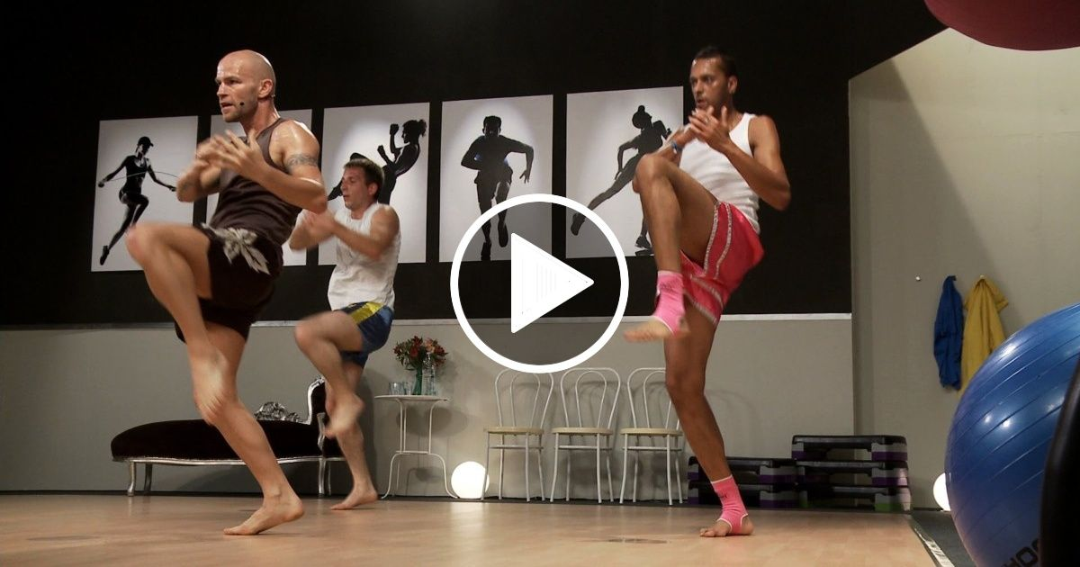 Muay thai cardio training 1 with keven haas fityess in