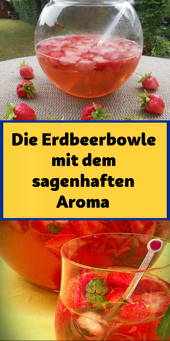 Photo of The strawberry punch with the fabulous aroma – foodrecipe menu