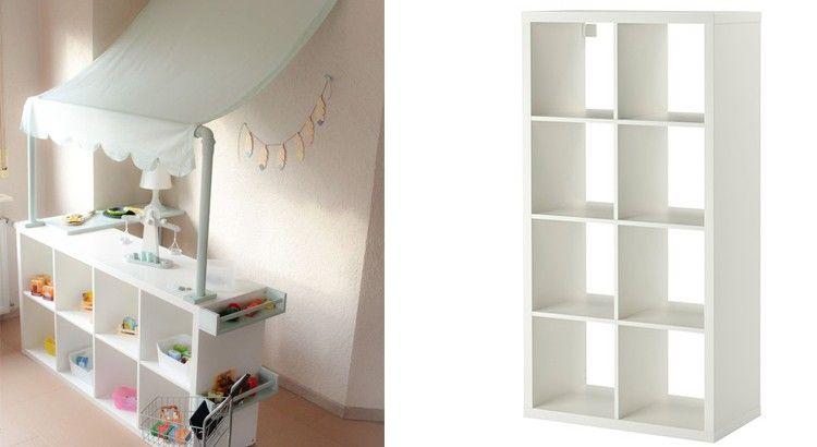 Ikea Hack 20 Idees Pour Relooker Les Meubles Des Enfants Ikea Chambre Enfant Chambre Enfant Etagere Chambre Enfant