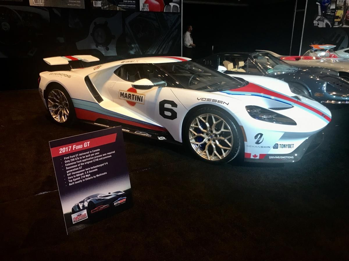 2018 Martini Ford Gt Fordgt2018 Ford Gt Lemans Car Ford Racing