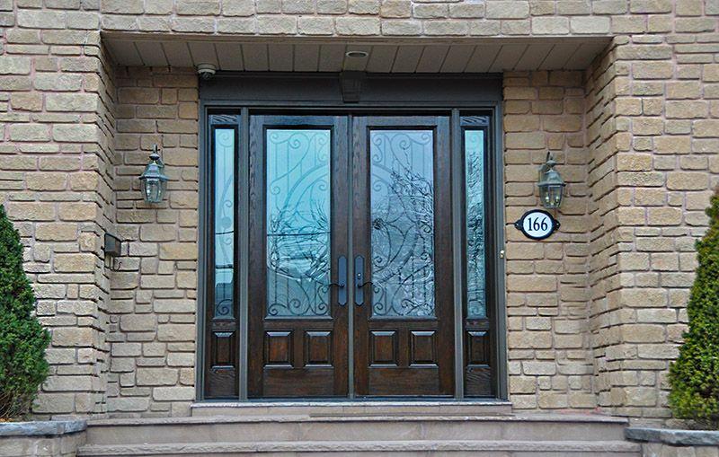 Entrance Doors Fibergl Vs Steel Entry Fibertec Windows Energy Efficient