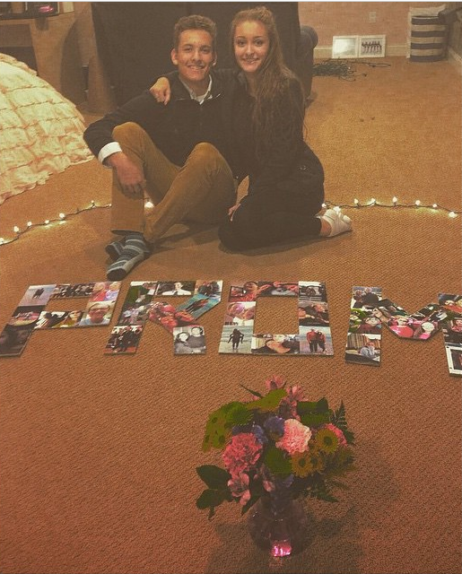 This Is ABSOLUTELY SO ROMANTIC! #promposal