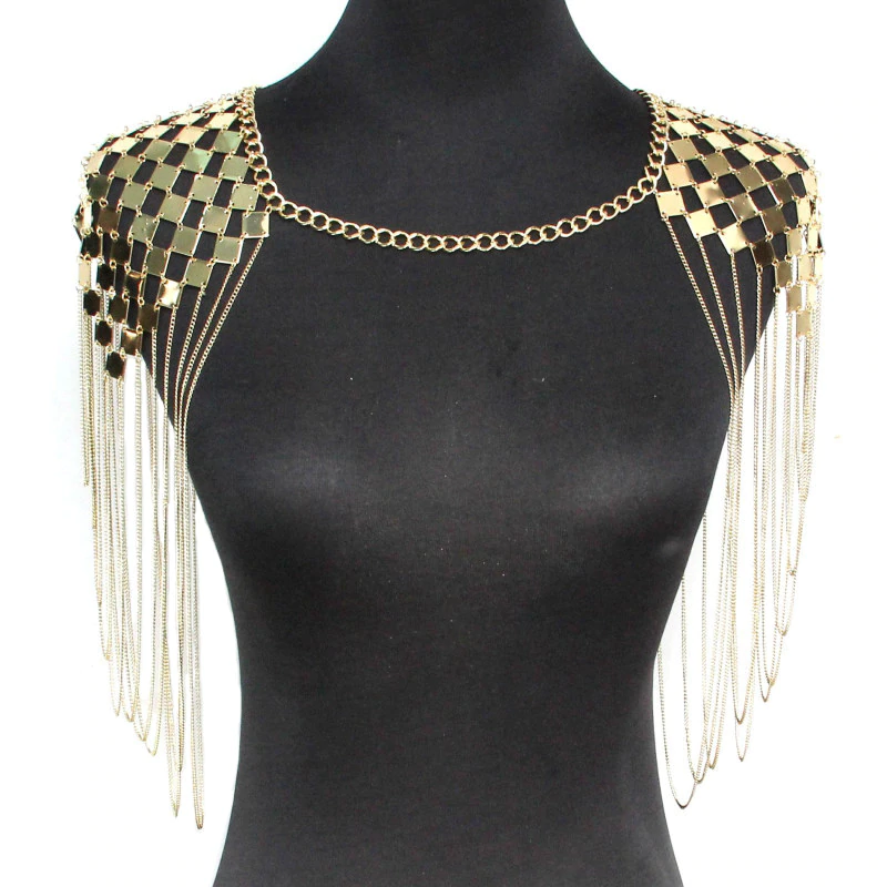 collier corps femme