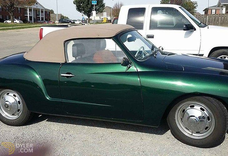 Classic 1970 Volkswagen KarmannGhia for Sale 4859 Dyler