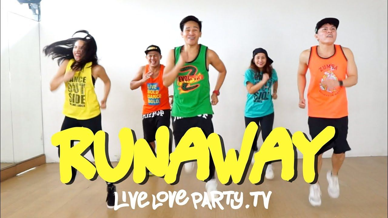 Runaway By Sebastian Daddy Yankee Jonas Brothers Live Love Party Dance Workout Zumba Workout Zumba Dance