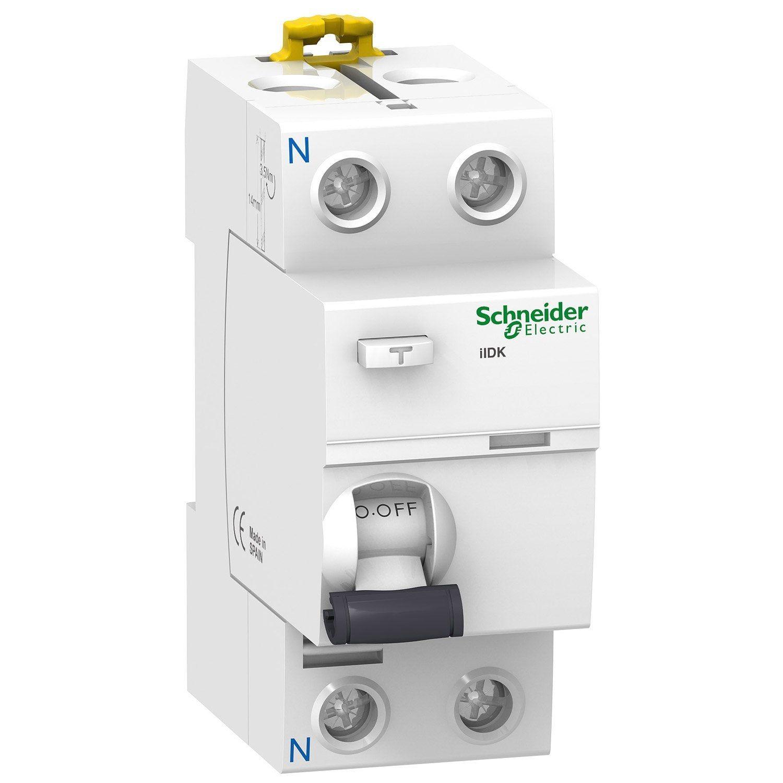Interrupteur Différentiel Schneider Electric 300 Ma 40 A