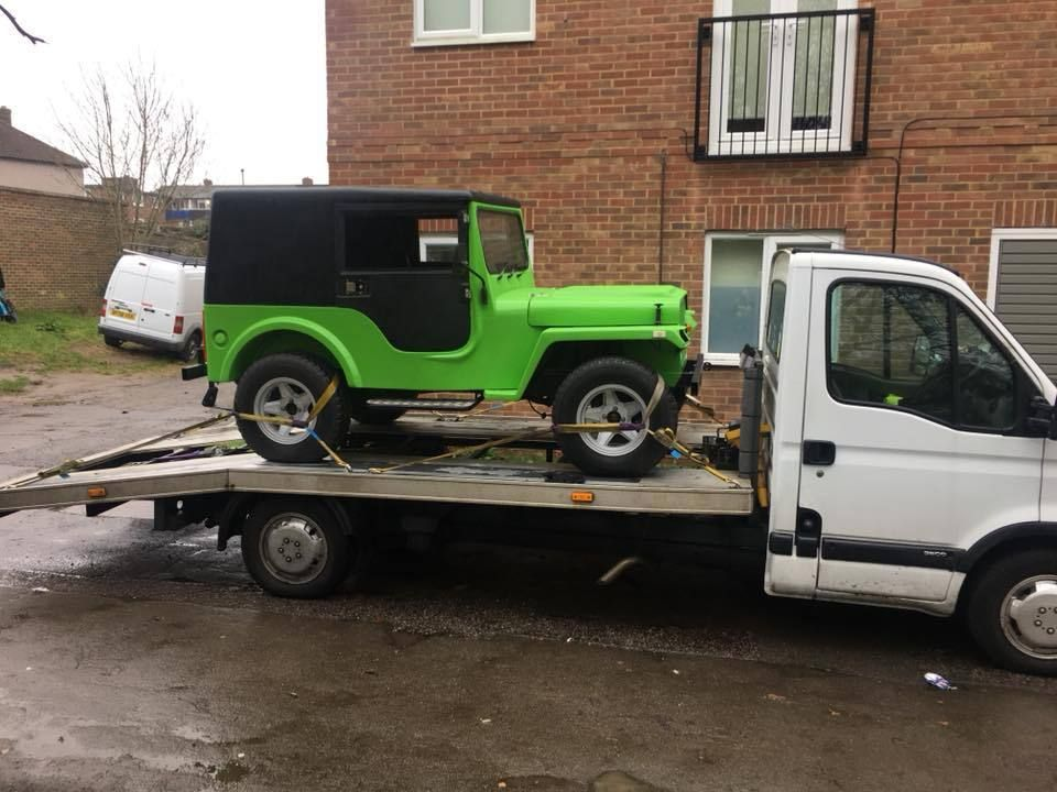 JAGO JEEP. Fresh paint, MOT, hard top, loads of spares. rare Kit Car ...