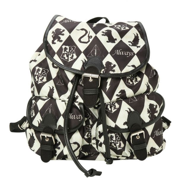 d37229c75c4 Harry Potter Diamond Houses Slouch Backpack
