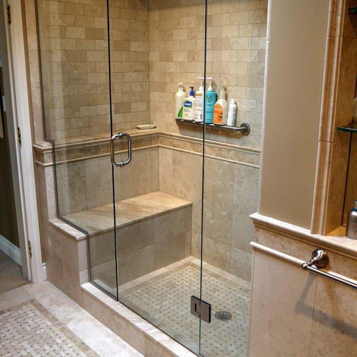 Bathroom Remodeling Ideas Tiles Shower Tile Design Ideas Pictures Shower Tile Design Ideas P Shower Renovation Shower Remodel Small Bathroom Remodel Designs