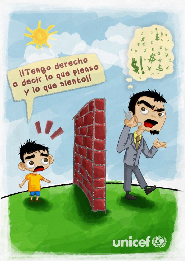 Afiches Sobre Los Derechos De Los Ninos Derechos De Los Ninos Frases Motivacionales Para Ninos Fraces Para Ninos