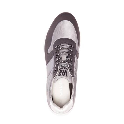 Van Lier sneakers met suède grijsantraciet in 2019   Products