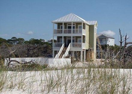 4 br Cape San Blas Beach Front Home Vacation Rental ...