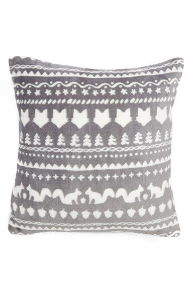 Nordstrom at Home Fair Isle Plush Velvet Pillow available at ...