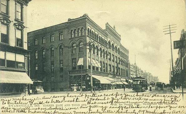 Historic Evansville - Tag: washingtonhouse