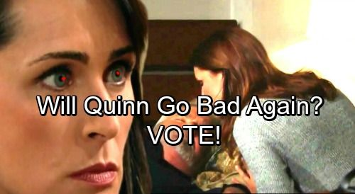 The Bold And The Beautiful Spoilers Sheila Destroying Quinns Life