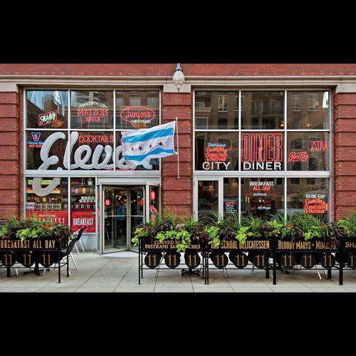 Eleven City Diner Chicago With Images Best Diner Diner City