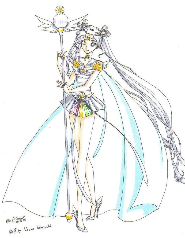 sailor cosmos, sailor moon