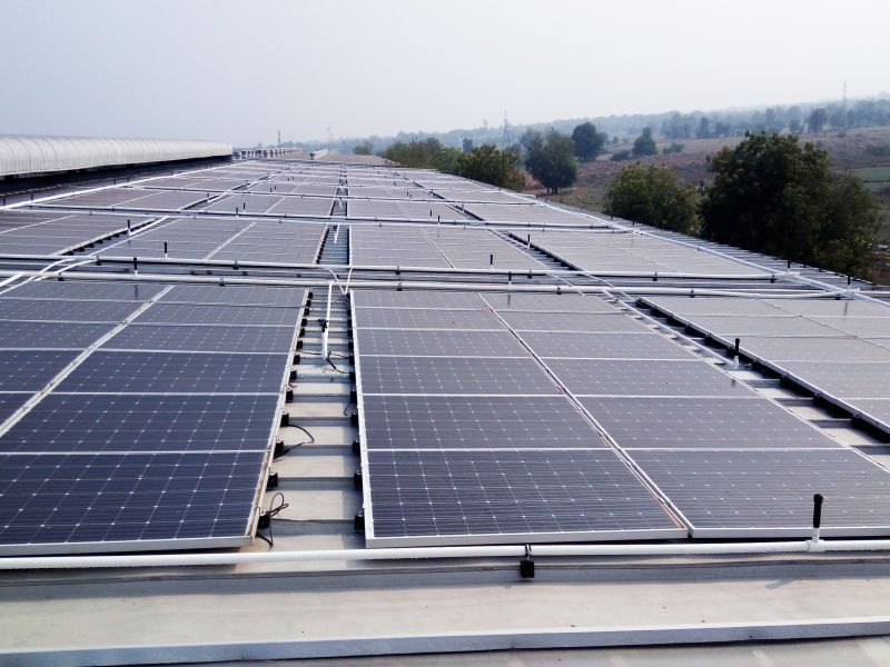 Lubi Solar Completed 108 KWp Rooftop GridTied solar