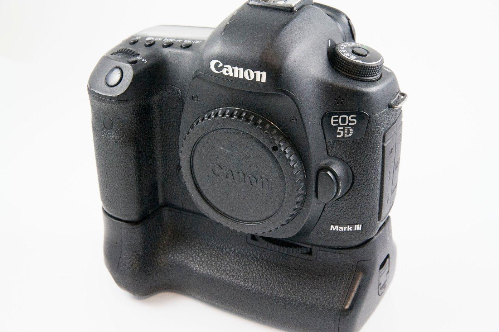 Canon Eos 5d Mark Iii 22 3mp Digital Camera W Canon Bg E11 Battery Grip Digital Camera Camera Eos