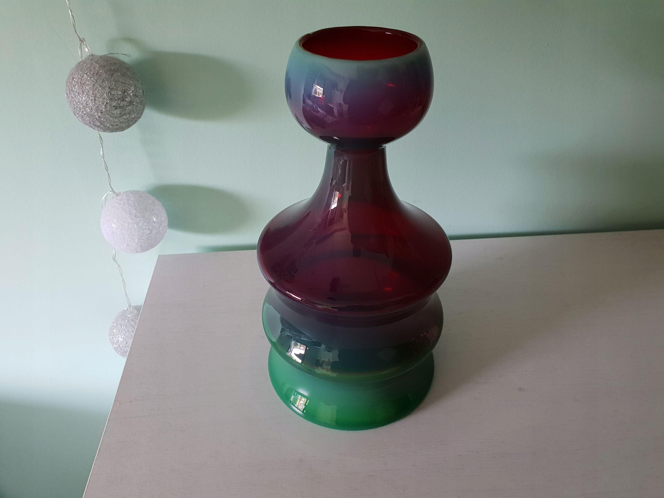Wystawowy Wazon Zyrafa Krawczyk Z Horbowy Unikat 7911333047 Oficjalne Archiwum Allegro Design Glass Lighting